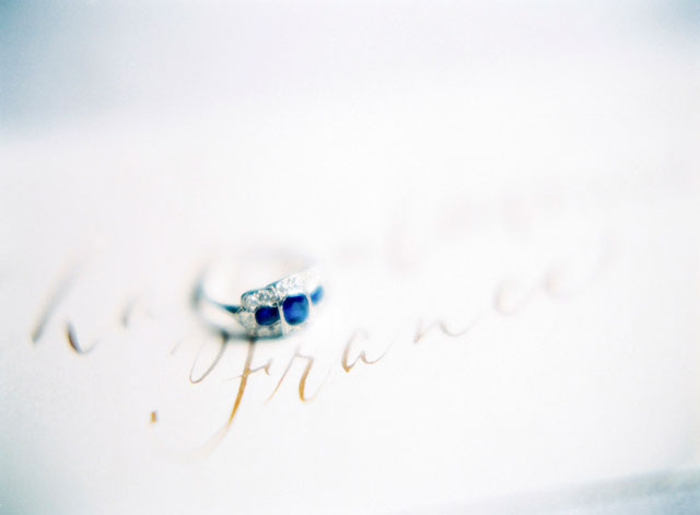 Vintage wedding ring | Zosia Zacharia Photography