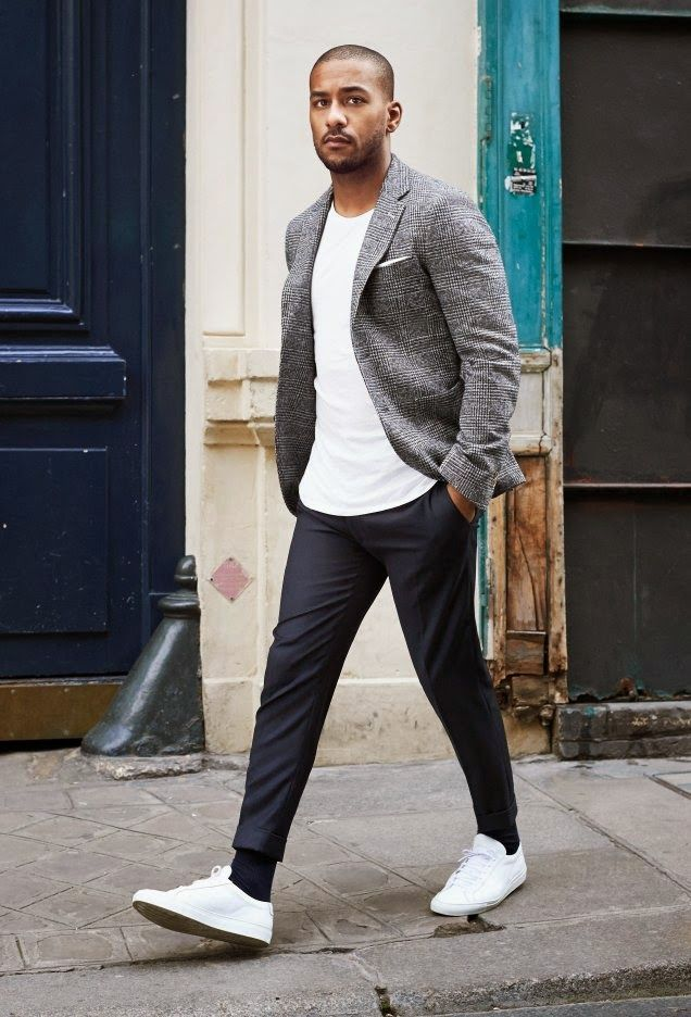 how to style business casual attire for men