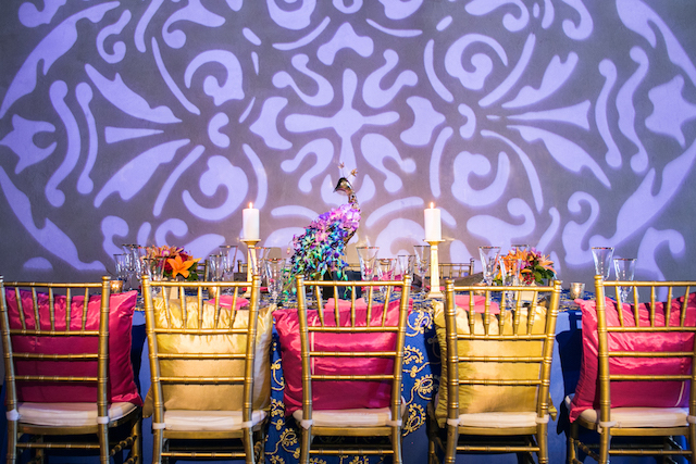 Indian wedding reception | Rachael Hall Photography