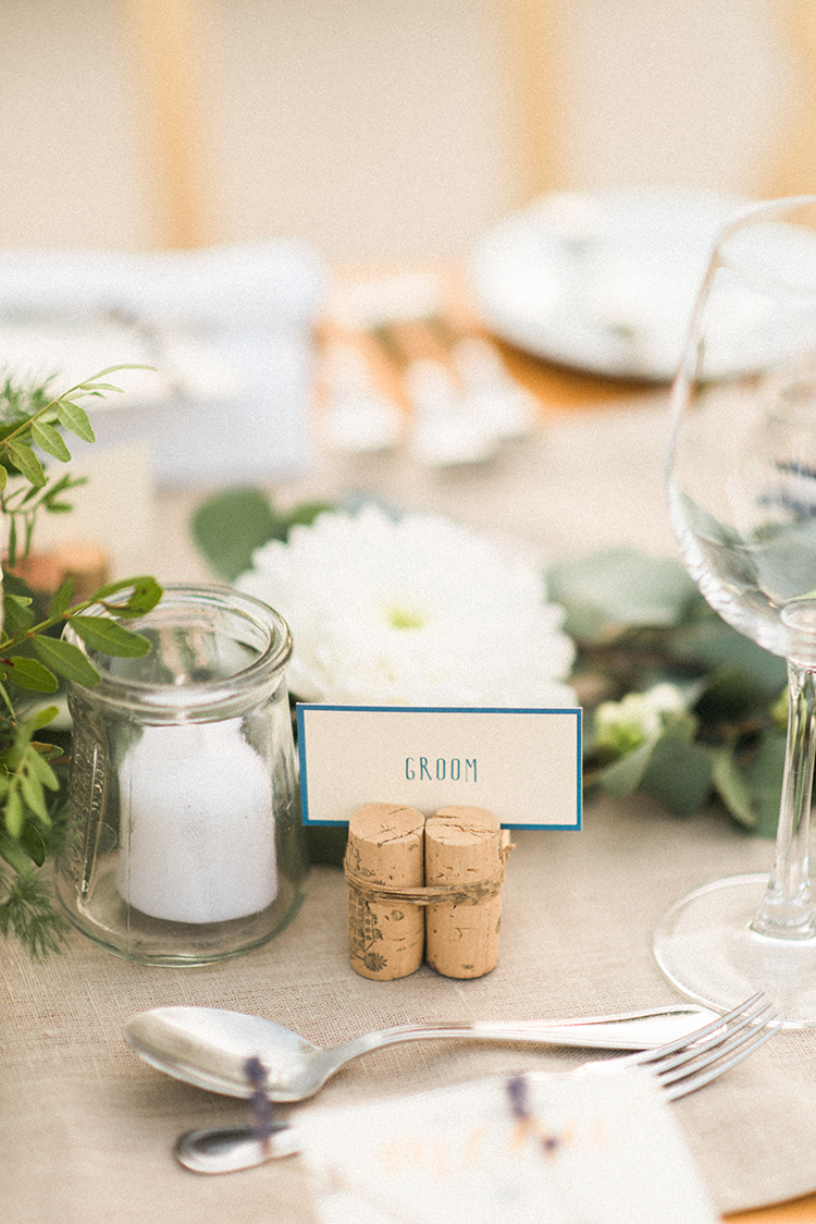 name cards - photo by Adriana Morais http://ruffledblog.com/two-day-destination-wedding-celebration-in-portugal