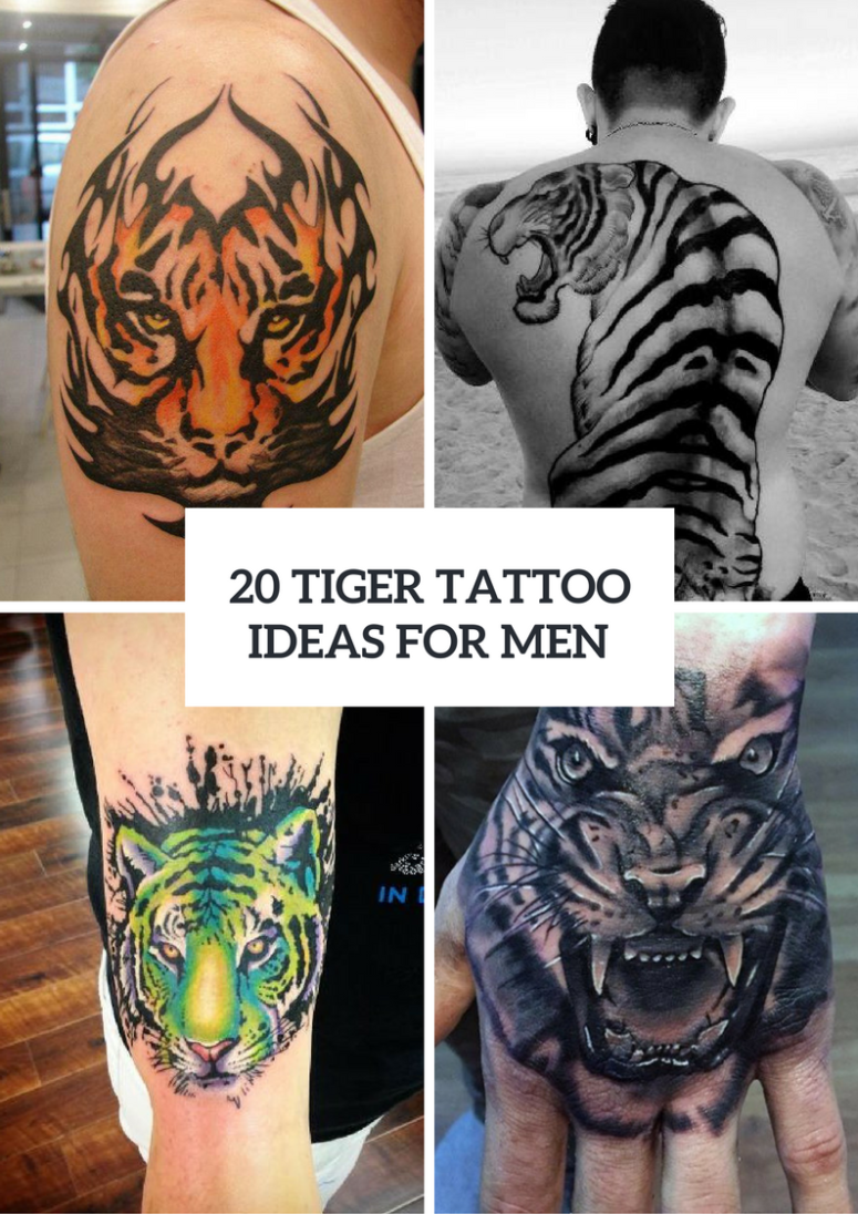 Excellent Tiger Tattoo Ideas For Men