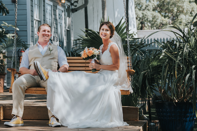 Key West Historic Inns wedding | Foto by Freas