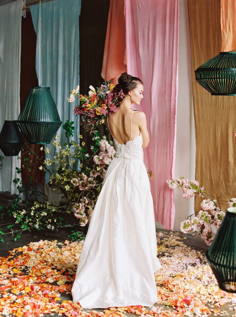 Viva Color Wedding Inspiration