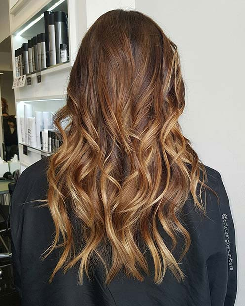 Bronde Blonde Ombre for Brunettes