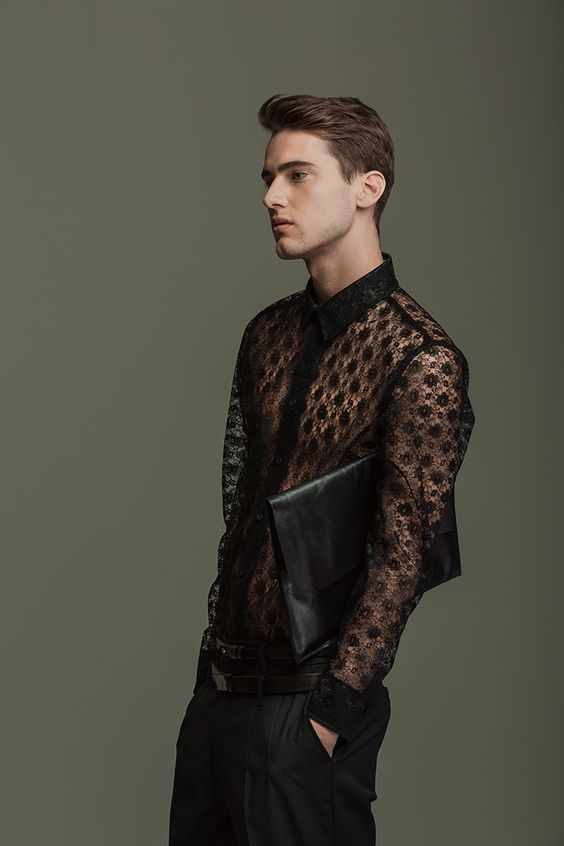 Lace Outfits for Men (17)