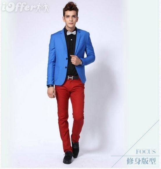 What Hair Style to Wear with Red Pants