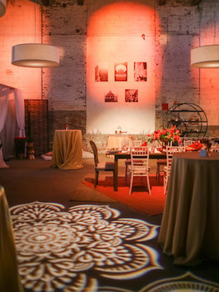 Indian themed lighting | Rodeo & Co Photography + BESWOON