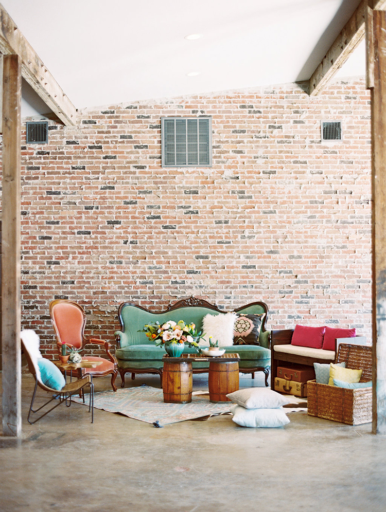boho wedding lounge areas - photo by Charla Storey Photography http://ruffledblog.com/summer-loving-wedding-inspiration-with-a-fiesta-brunch