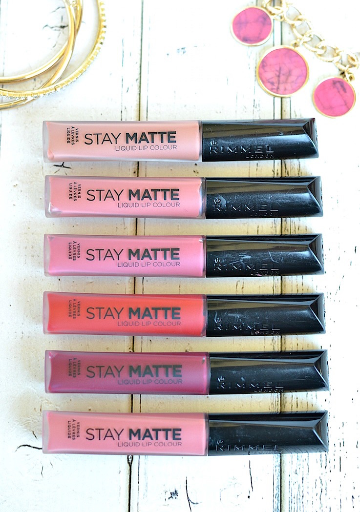 The best drugstore matte liquid lipstick | Lightweight, non-drying, highly pigmented and lasts all day—Rimmel London Stay Matte Liquid Lip Color does it all for under $  6! It's cheap but SO good!