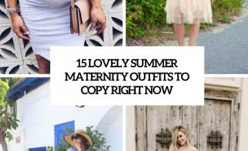 lovely summer maternity outfits to copy right now cover