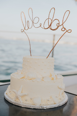 Ocean themed wedding cake | Foto by Freas