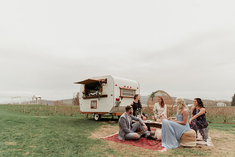 boho wedding inspiration - photo by Sarah White Photography http://ruffledblog.com/boho-bridal-shower-inspiration-for-your-bride-tribe