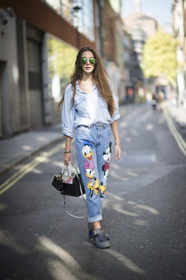 Embroidered Jeans for Girls (26)