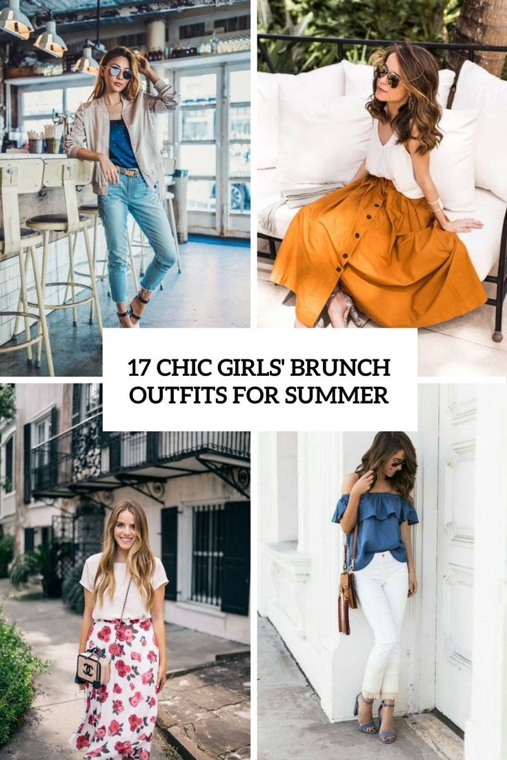 chic girls' brunch outfits for summer cover