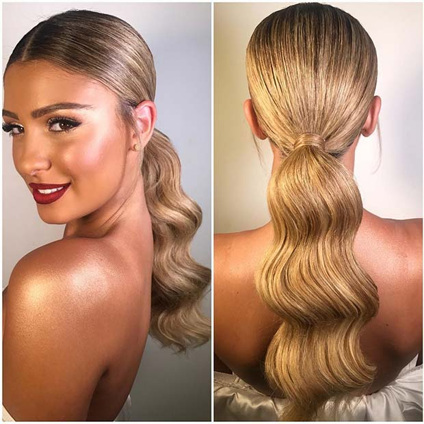 21 Elegant Ponytail Hairstyles for Special Occassions | Beauty