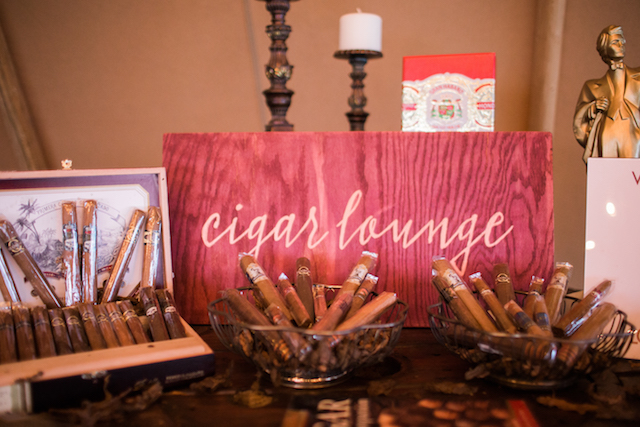 Cigar lounge | Sweet Roots Photography