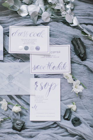 Dress code in wedding invitation | Anna Zabrodina Photography