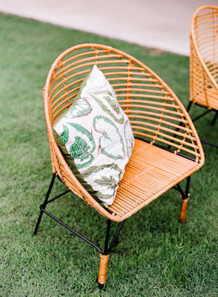 Mid century modern chair | Leighanne Herr Photography