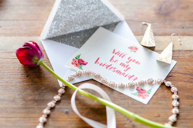 Will You Be My Bridesmaid? | Ashley Kidder Photo