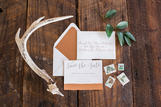 Rustic invitation suite | Sweet Roots Photography