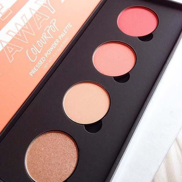 Colourpop Cosmetics Pressed Palette for Hot Makeup Products You Need This Summer