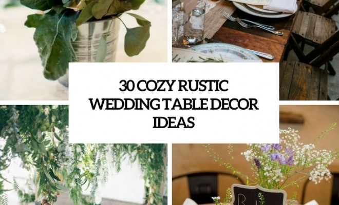 Rustic Décor Brings A Lot Of Charm And Coziness, And Itu0027s Widely Used For  Many Weddings Today, Not Only For Rustic Ones U2013 For Woodland, Laid Back, ...