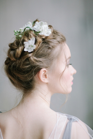 Braided crown updo | Anna Zabrodina Photography