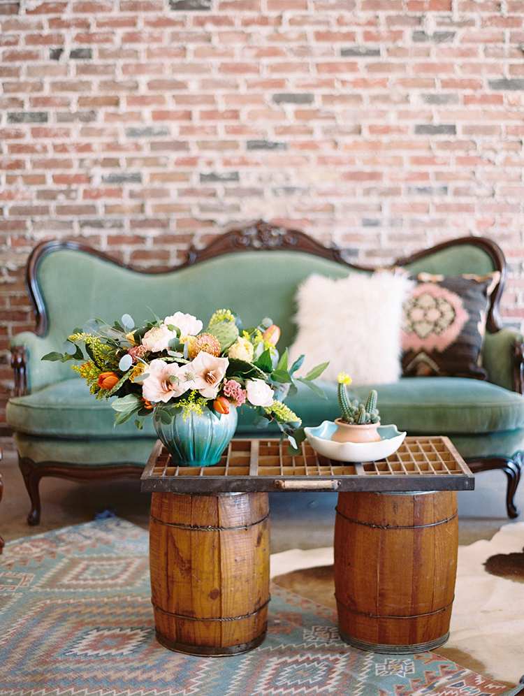 boho lounges - photo by Charla Storey Photography http://ruffledblog.com/summer-loving-wedding-inspiration-with-a-fiesta-brunch
