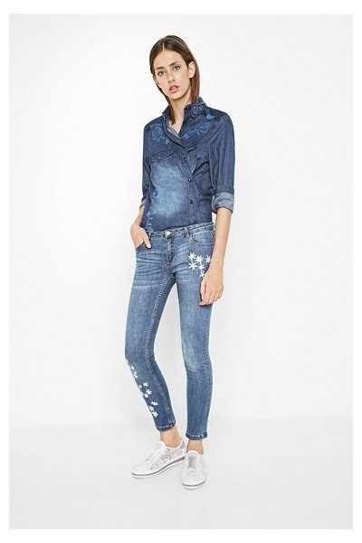 Embroidered Jeans for Girls (25)