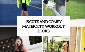 cute and comfy maternity workout looks cover