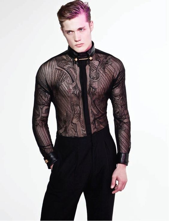Lace Outfits for Men (10)