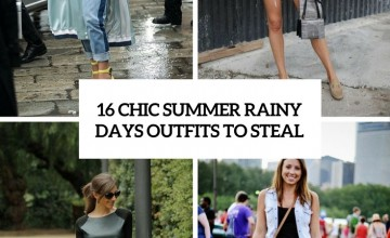 chic summer rainy day outfits to steal cover