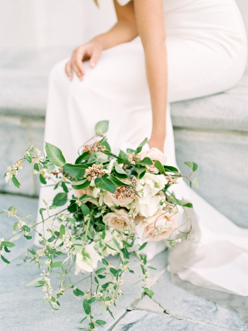 Minimal Hair Wedding Inspiration