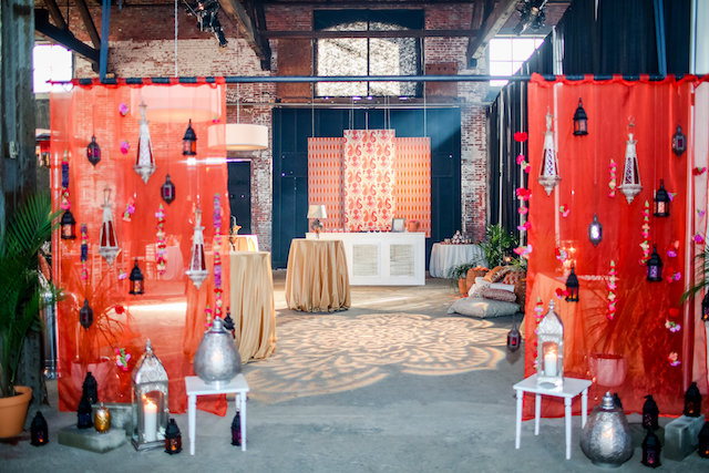 Indian fusion wedding design | Rodeo & Co Photography + BESWOON