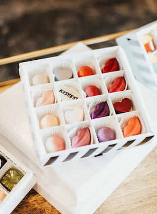 Custom chocolates | Leighanne Herr Photography