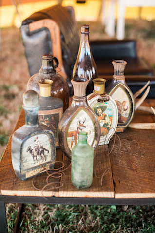 Vintage bottles | Sweet Roots Photography