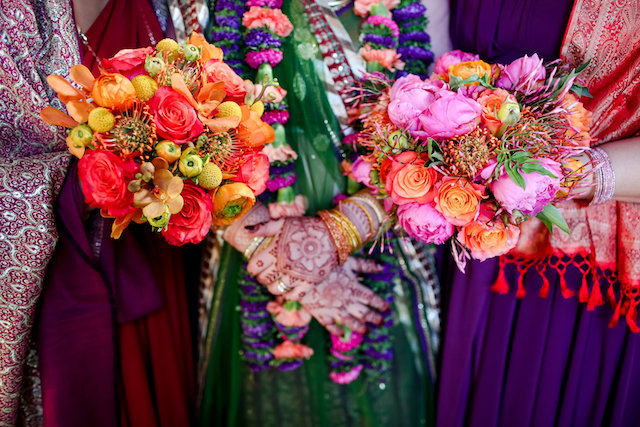 Indian bridal bouquets | Rodeo & Co Photography + BESWOON
