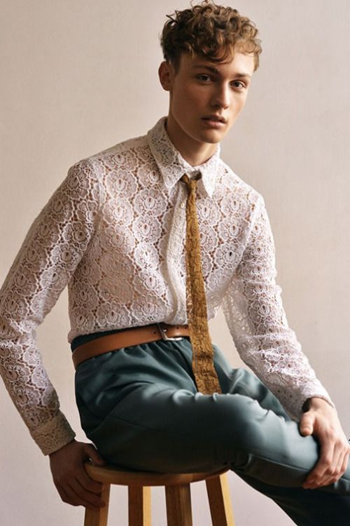 Lace Outfits for Men (20)