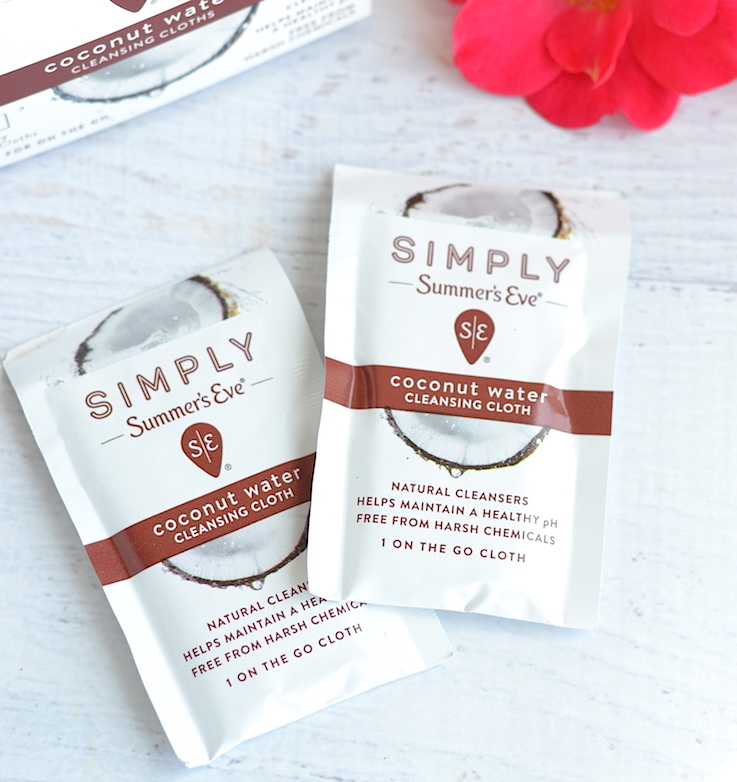 Simply Summer's Eve Cleansing Cloths