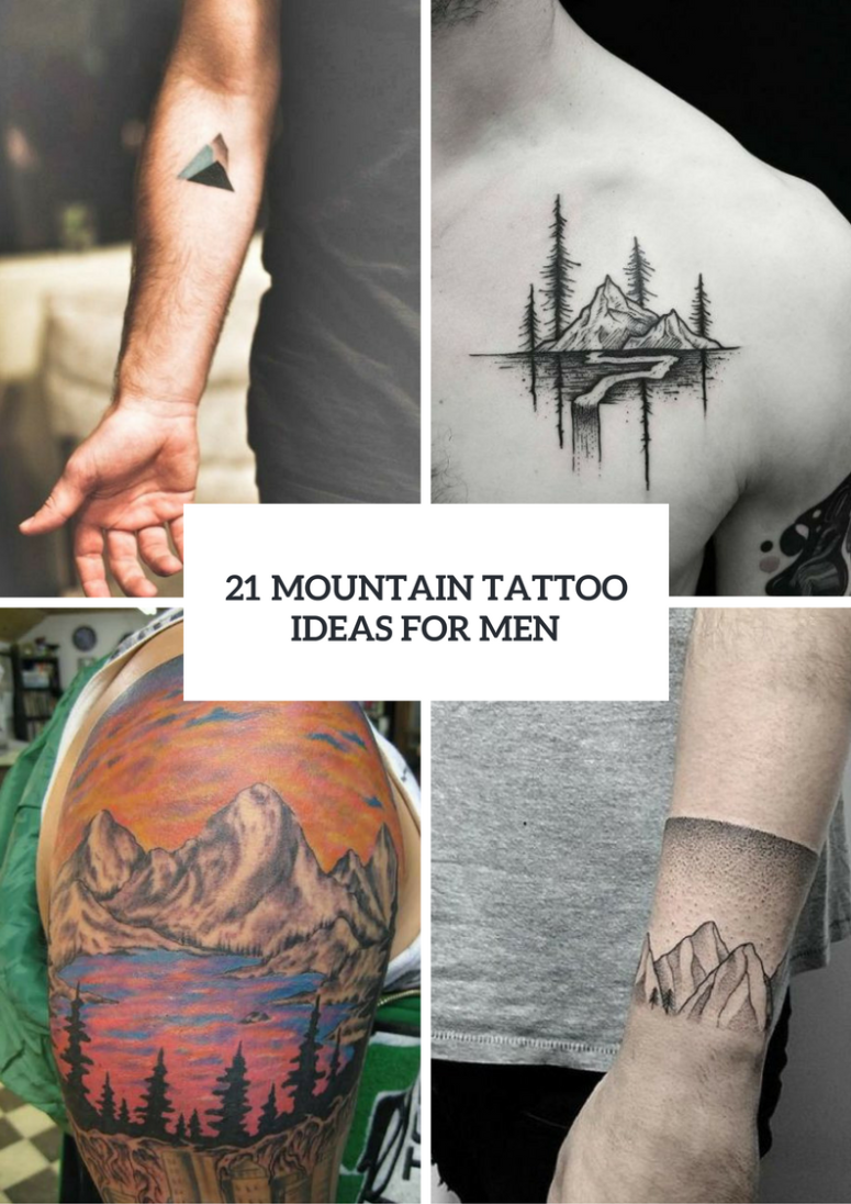 Stunning Mountain Tattoo Ideas For Men