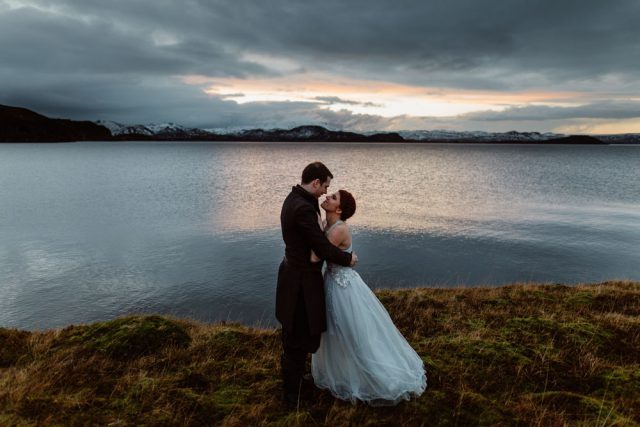 This wedding took place in Iceland, and it was inspired by Game Of Thrones