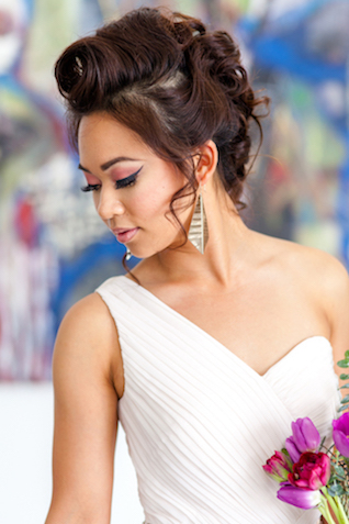 Bridesmaids updo | Ashley Kidder Photo