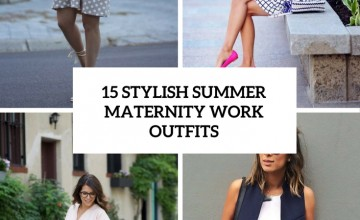 stylish summer maternity work outfits cover