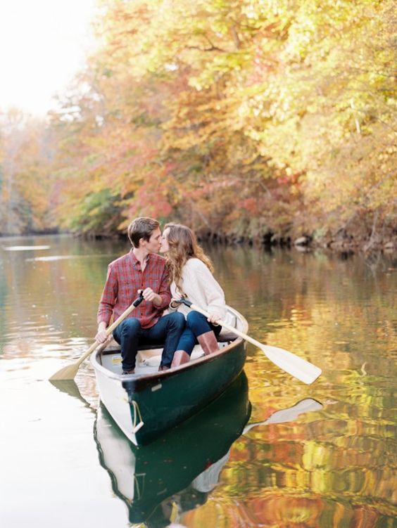 go on a boat trip together, and if you are having a lake wedding, it will be a hint