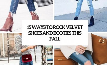 ways to rock velvet shoes and booties this fall cover
