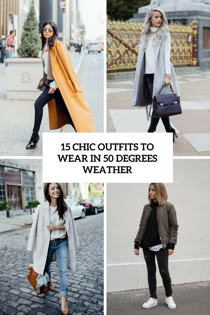 chic outfits to wear in 50 degrees weather cover