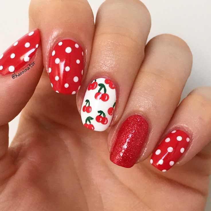 Top 10 Fruit Inspired Summer Nail Art