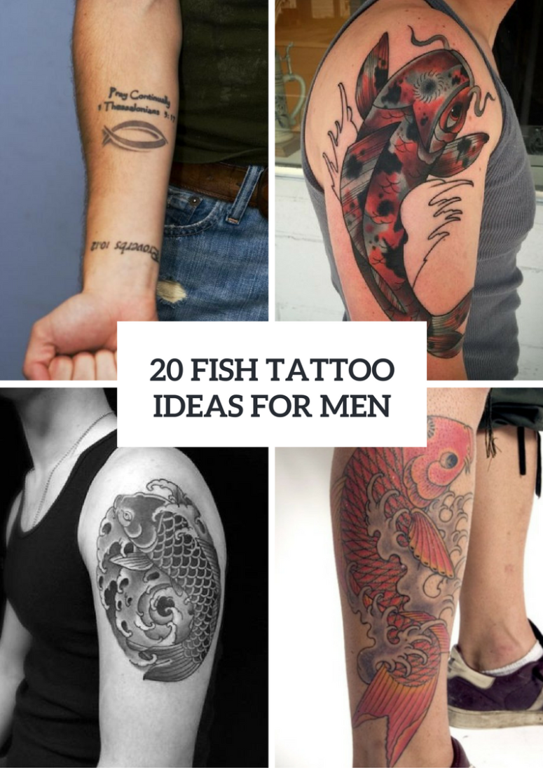 Fish Tattoo Ideas For Men