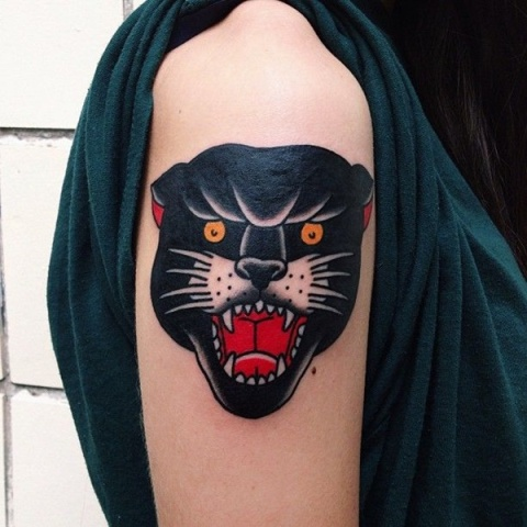 Excellet tattoo on the arm