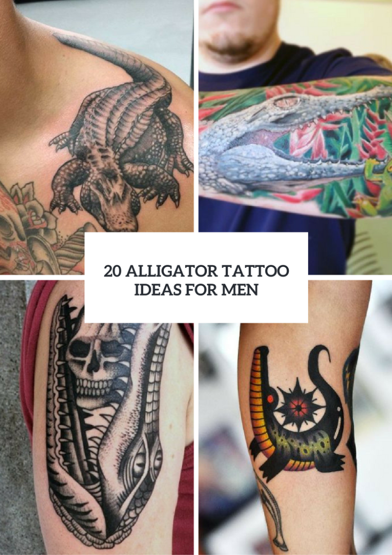Alligator Tattoo Ideas For Men To Try